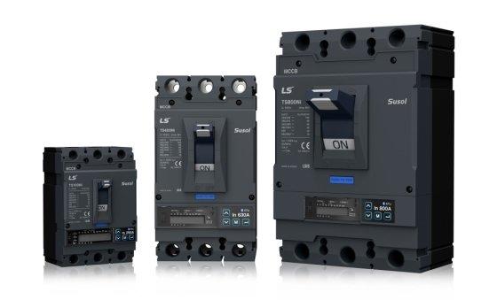 LS산전 차세대 전력 솔루션 수솔 스마트 배선용 차단기. /사진제공=LS산전