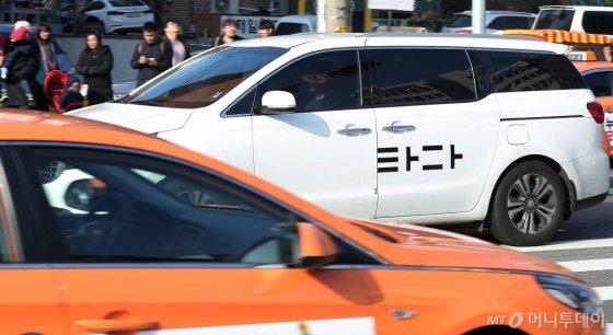 타다와 택시. / 사진=김창현 기자 chmt@