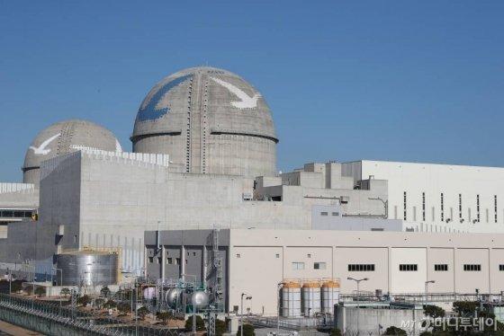 신고리 4호기가 있는 새울원자력발전본부 전경. / 사진제공=한국수력원자력
