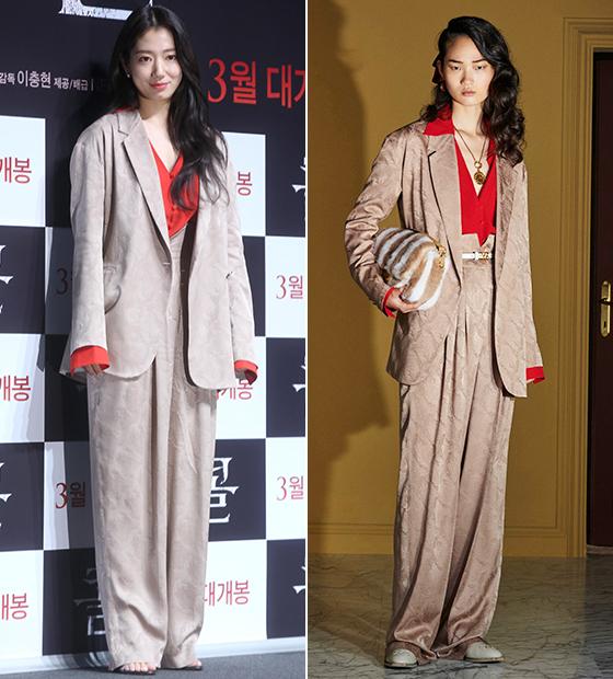배우 박신혜, 펜디 2020 리조트 컬렉션/사진=강민석 기자, 펜디