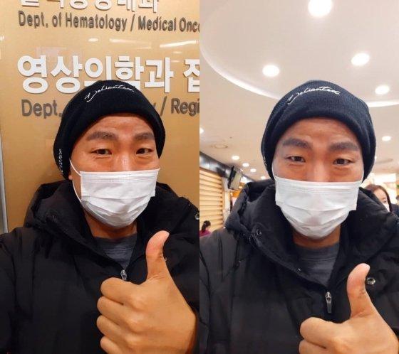 김철민이 지난 19일 자신의 페이스북을 통해 최근 뇌 MRI 검사가 정상으로 나왔다고 전했다./사진=김철민 페이스북 캡처