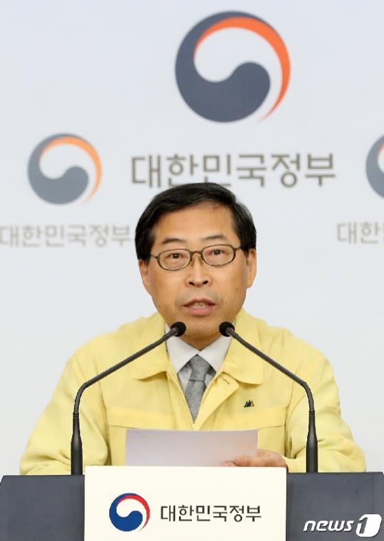 [사진] 브리핑 하는 김규태 고등교육정책실장