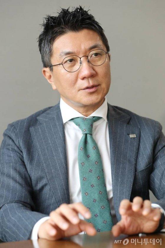 김응석 미래에셋벤처투자 대표 머투초대석 인터뷰 / 사진=이기범 기자 leekb@