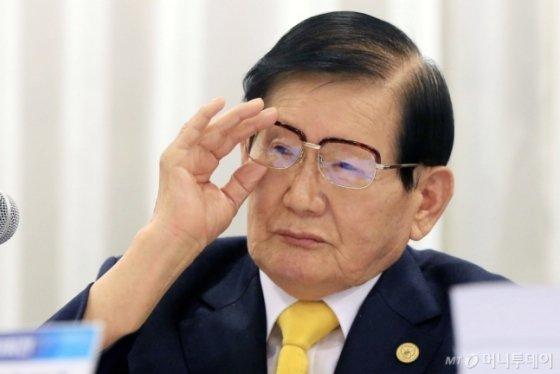 이만희 총회장./사진=머니투데이DB