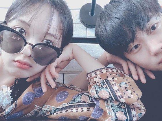왼쪽부터 배우 김보라,조병규/사진=조병규 인스타그램