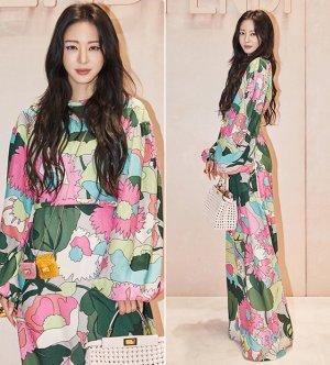한예슬, 1200만원대 화려한 봄 패션…