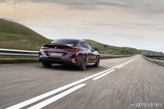 BMW '뉴 M8 그란쿠페 컴페티션'. /사진제공=BMW코리아