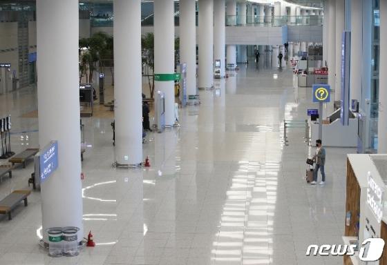 [사진] '한국 여행객 급감·한국인 여행 취소' 이중고 겪는 인천공항