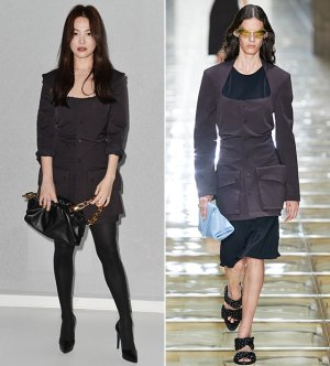 패션쇼 참석한 송혜교, 우아함 뽐냈다…