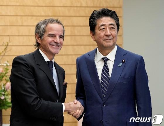 일본 간 IAEA총장