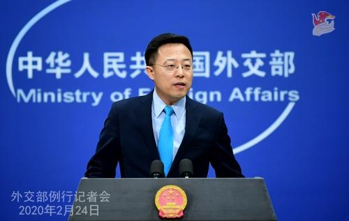 """中 """"한국의 고난은 중국의 고난""""…코로나 구호품 지원"""