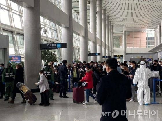 中서 늘어나는 한국 격리자, 호텔격리 총 226명