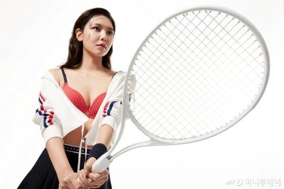 배우 최수영 /사진제공=휠라 언더웨어