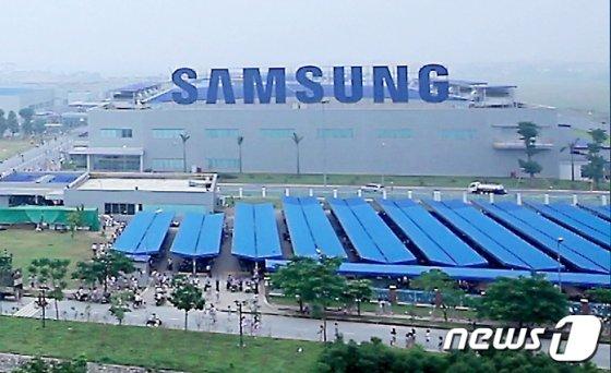 베트남 하노이 북부 박닌성에 위치한 삼성전자 스마트폰 생산 공장. /사진제공=삼성전자
