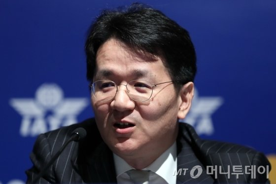 조원태 한진그룹 회장/ 사진=이기범 기자 leekb@