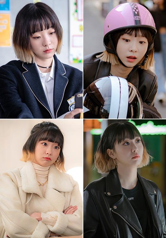 드라마 '이태원 클라쓰'에서 조이서 역을 맡은 배우 김다미/사진=JTBC '이태원 클라쓰' 공식 홈페이지