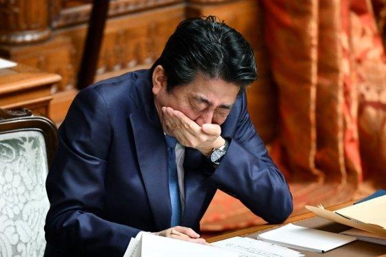 아베 신조 일본 총리. /사진=AFP.