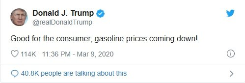 /사진=트럼프 대통령 트위터.