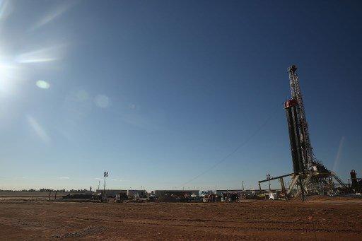미국 텍사스주 페르미안분지에 있는 셰일오일 시추시설/사진=AFP
