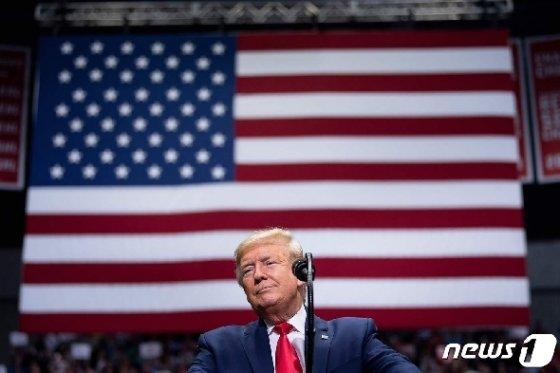 도널드 트럼프 미국 대통령. © AFP=뉴스1 © News1 우동명 기자