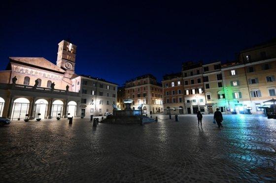 10일(현지시간) 이탈리아 로마. /사진=AFP