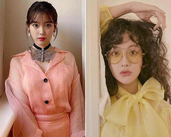 가수 아이유, 배우 오연서/사진=아이유 인스타그램, 리에티