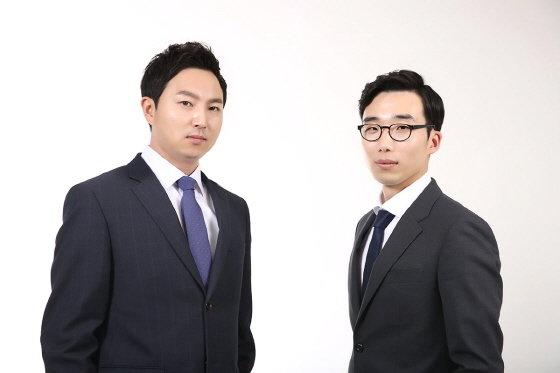 왼쪽부터 현승진 대표변호사, 오경수 대표변호사/사진제공=법률사무소 세웅