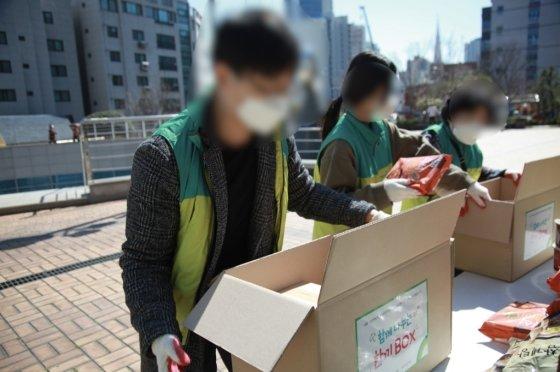 팀웍이 척척 맞았던, 에이스 3조 조원들./사진=초록우산 어린이재단