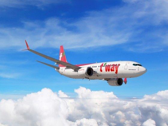 티웨이항공 항공기/사진=티웨이항공