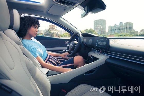 현대자동차 '올 뉴 아반떼'. /사진제공=현대자동차