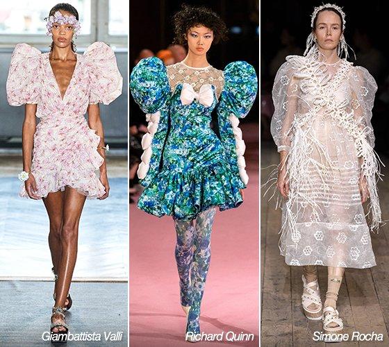 지암 바티스타 발리, 리차드 퀸, 시몬 로샤 2020 S/S 컬렉션/사진=각 브랜드
