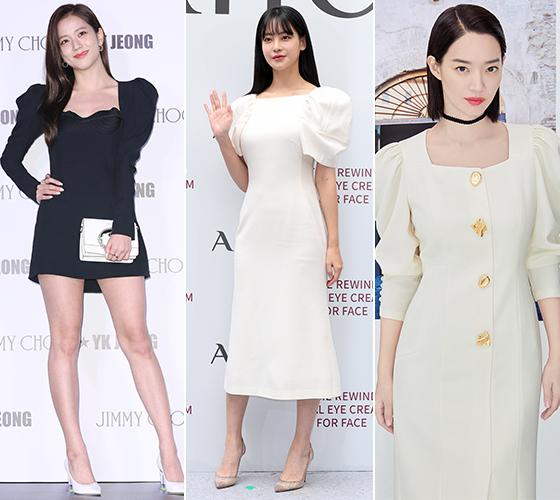 그룹 블랙핑크 지수, 배우 오연서, 신민아/사진=뉴스1, 미샤