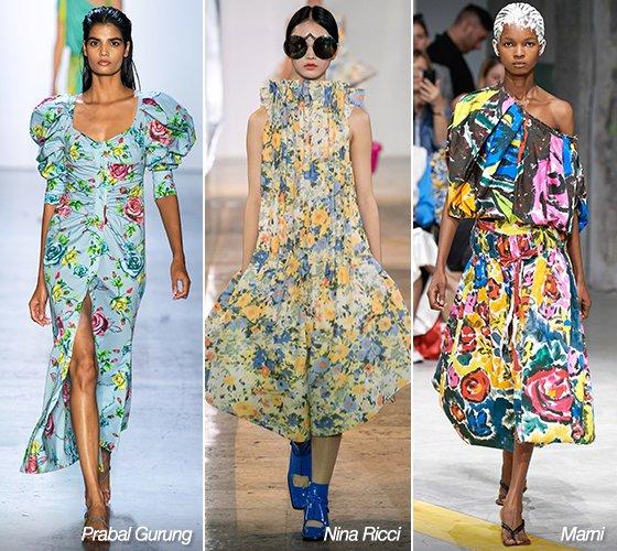 프라발 구룽, 니나리찌, 마르니 2020 S/S 컬렉션/사진=각 브랜드