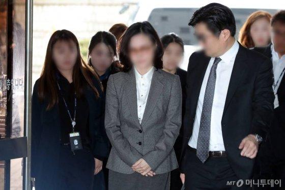 조국 전 법무부 장관의 배우자 정경심 동양대 교수 / 사진=이기범 기자 leekb@