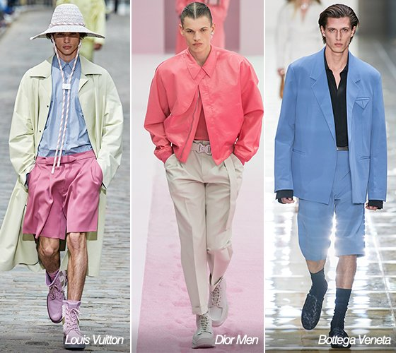 루이비통, 디올 맨, 보테가 베네타 2020 S/S 남성복 컬렉션/사진=각 브랜드