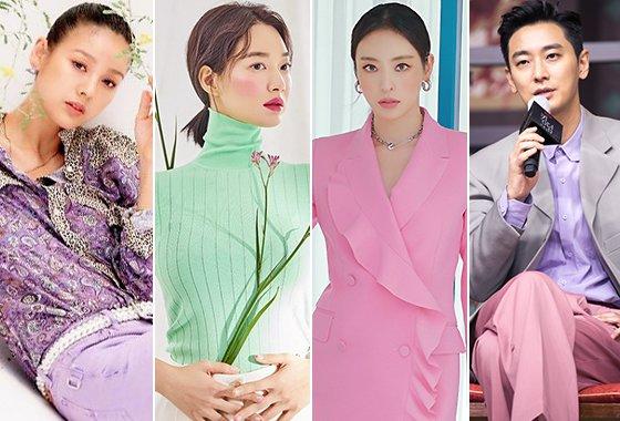 가수 이효리, 배우 신민아, 이다희, 주지훈/사진=쟈딕앤볼테르, 엘르, 싱글즈, 넷플릭스