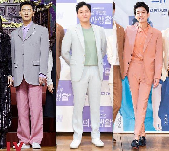 배우 주지훈, 김대명, 정경호/사진=넷플릭스, 슬기로운 의사생활 공식 홈페이지