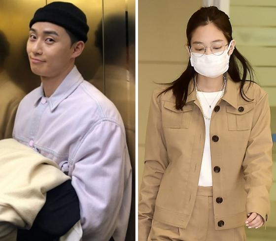 배우 박서준, 그룹 블랙핑크 제니 /사진=인스타그램, 젠틀몬스터