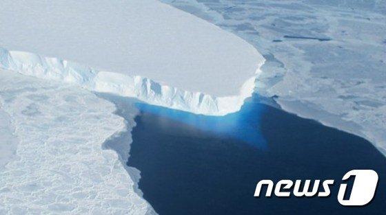 세계에서 네번째로 큰 남극의 라르센 빙붕/자료사진=뉴스1