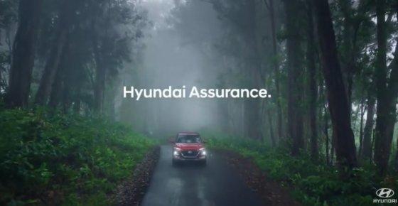 지난 20일 유튜브에 등록된 현대차 미국법인 TV 광고. 신차 구매자 중 실직자의 할부금을 최대 6개월 유예하는 '현대 어슈어런스' 내용이다. /사진=현대차 미국법인 유튜브 캡처