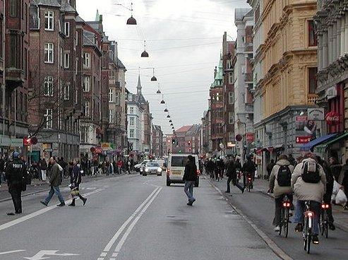 덴마크 코펜하겐 자전거 도로 / 사진제공=위키커먼스