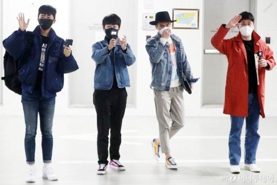 [사진]이영웅-이찬원-장민호-영탁 '미스터트롯 4인방'