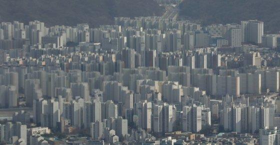 서울 아파트 전경. /사진제공=뉴스1