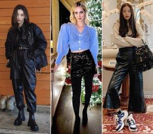 선미·기은세도 가죽 패션…'레더 팬츠' 어떻게 입을까?