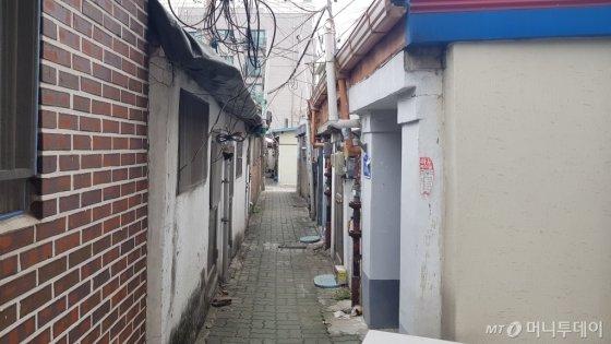 서울 마포구 염리동 재개발 사업지 모습/사진= 박미주 기자