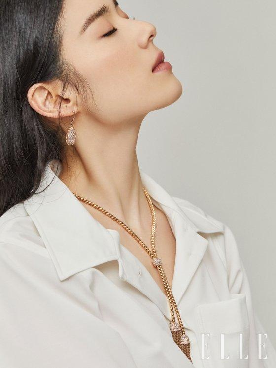 배우 정은채/사진제공=부쉐론(Boucheron), 엘르(ELLE)