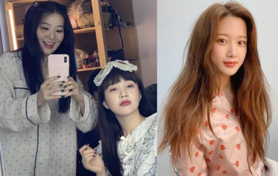 /사진=그룹 레드벨벳 조이, 배우 문가영 인스타그램