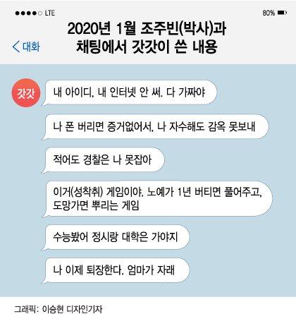 [단독]은퇴했다는 n번방 갓갓, 지난 1월에도 '16살 성착취'