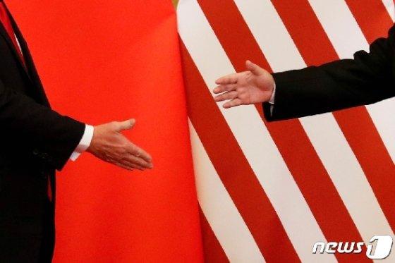 시진핑 중국 국가주석(왼쪽)과 도널드 트럼프 미국 대통령(오른쪽). <자료사진> © 로이터=뉴스1