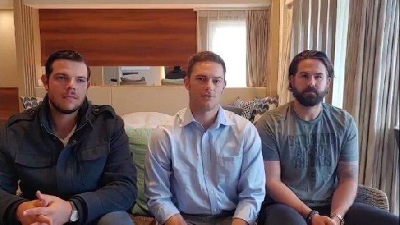 LG 외국인 3인방. (왼쪽부터) 라모스-윌슨-켈리. /사진=LG 트윈스 제공